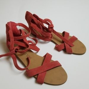 Sole society sandals size 7.5